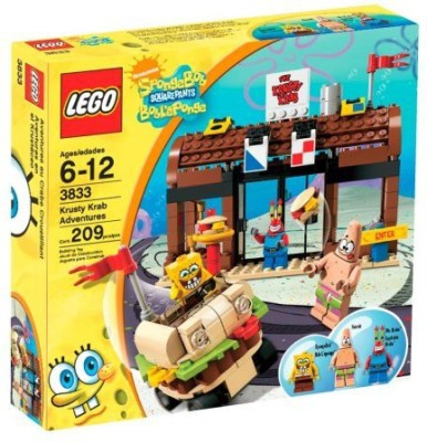 SpongeBob SquarePants Lego Krusty Krab Adventures