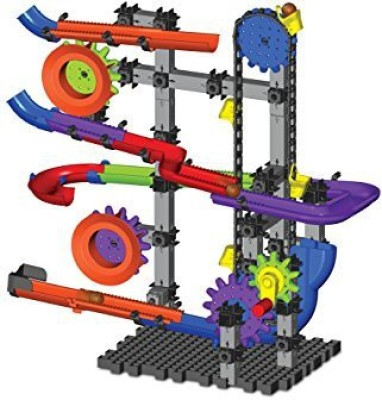 The Learning Journey Techno Gears Marble Mania Crankster Building Kit (100-Piece), Multi