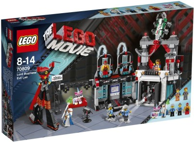 Lego Lego Movie Lord Business Evil Lair