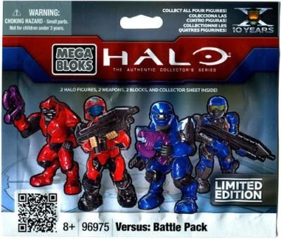 Mega Brands Halo Wars Mega Bloks Item 96975 Versus Battle Back Mini