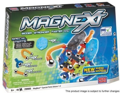 Mega Brands Mega Bloks Magnext 45 Count Special Parts Deluxe 13