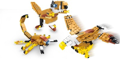 Funblox FunBlox 3 in 1 Mountain Eagle, The Mighty Dinosaur or A Scorpion