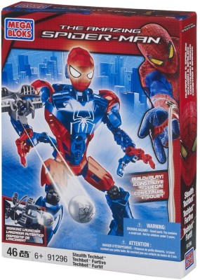 Stealth Spiderman Techbot Multicolor