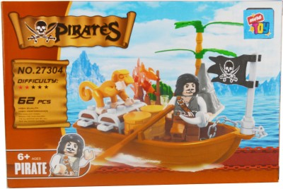 Mera Toy Shop Pirates 62 pcs