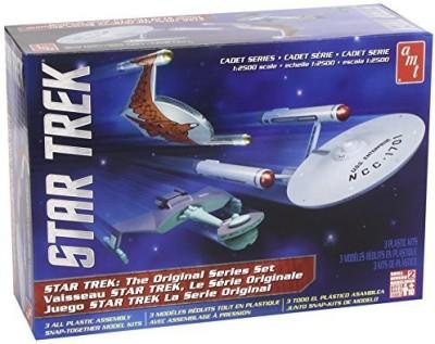 AMT Ertl 1/2500 Star Trek Tos Era Ship Setsnap Kit