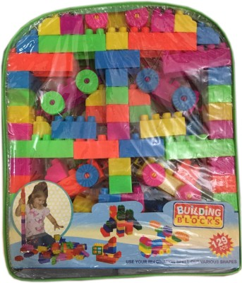 Rahul Toys 129 Pcs Blocks Play And Learn