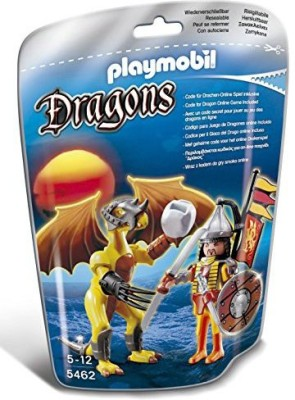 Playmobil Stone Dragon with Warrior