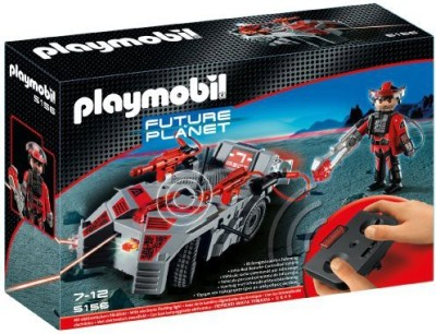 PLAYMOBIL Dark Rangers, Explorer With Ir Knockout Cannon