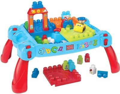 Mega Bloks Play N Go Table - 25 Pieces