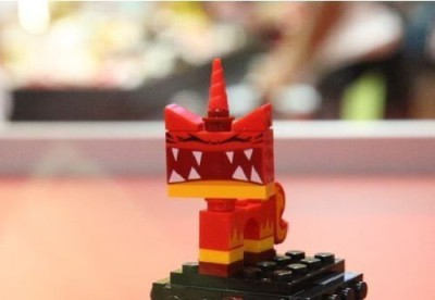 Lego Movie Super Angry Kitty Mini