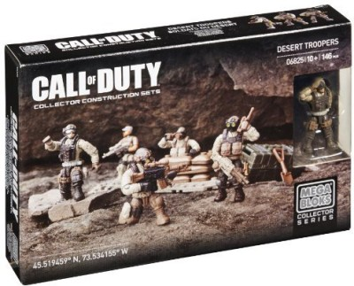 Mega Bloks Mega Bloks Call Of Duty Desert Troopers