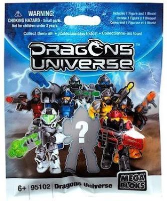 Mega Brands Dragons Universe Mega Bloks Set 95102 Mini Blind Pack