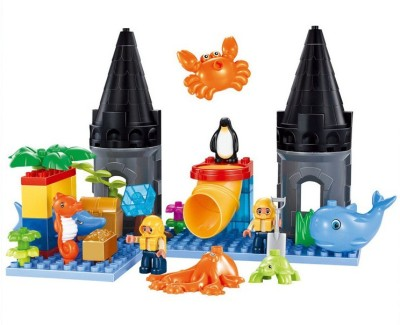 Building Mart Underwater Sea World Building Block Set - 41 Pieces