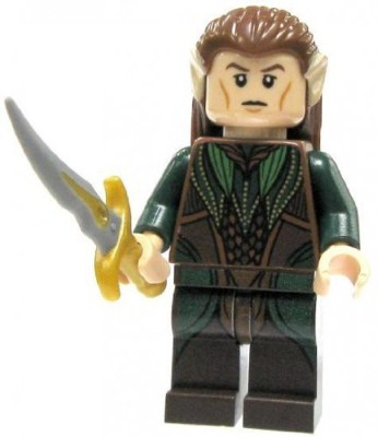 The Lord Of The Rings Lego Hobbit Loose Mini Mirkwood Elf With Sword