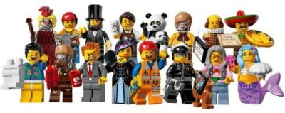 Lego 71004 Minis Series 12 The Movie Complete Set Of 16