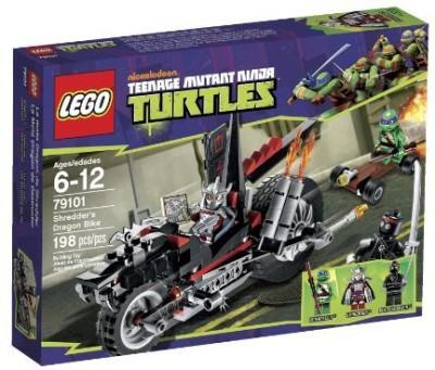 Lego Tnmt Ninja Turtles Shredder Dragon Bike