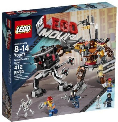 LEGO Movie 70807 MetalBeard's Duel(Multicolor)