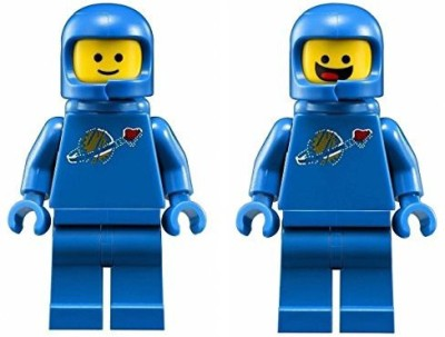 Lego Movie Benny 1980 Something Space Guy Mini(Blue)
