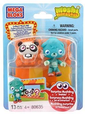 Mega Bloks Moshi Monsters Moshling Zoo And Poppet 80635