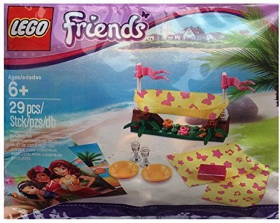 Lego Friends Beach Hammock 5002113 Event Promotional Exclusive