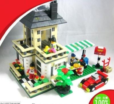 Wange Buildingvilla Series 512Pcs 31051
