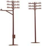 Atlas MODEL 775 Telephone Poles HO (12) ...