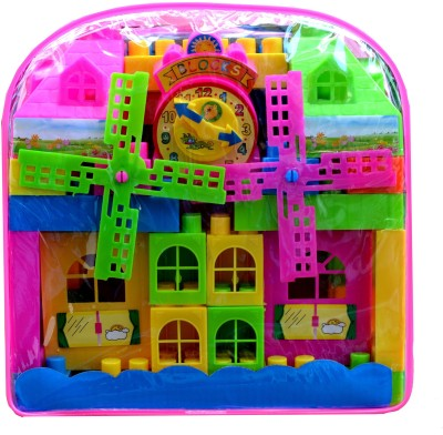 Taaza Garam Big Building Blocks Set for Kids - Gift Toy