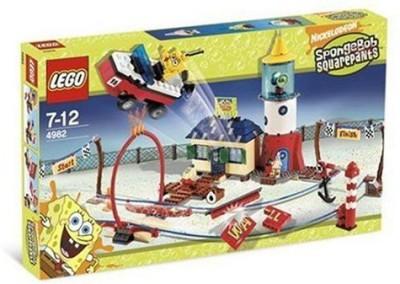 Lego Spongebob Squarepants Mrs Puff,S Boating School 4982