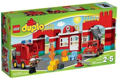 Lego 10593 Duplo Emergency Fire Station