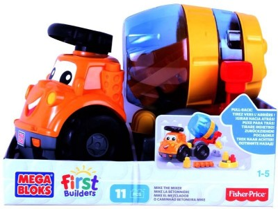 Mega Bloks Mega Bloks First Builders - 11Pcs