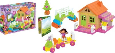 Dora HOUSE BLOCKS  46 Pcs.(Multicolor)