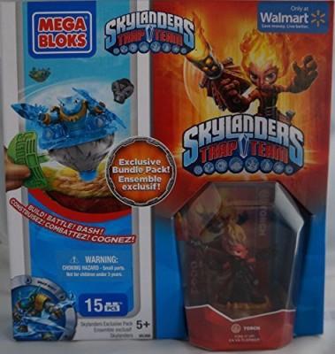 Skylanders Giants Mega Bloks Skylanders Trap Team Hero Packs Torch