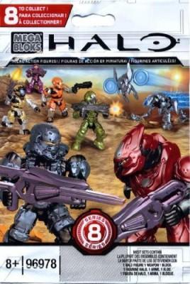 Halo Wars Halo Mega Bloks Series 8 Micro Blind Bag Mini