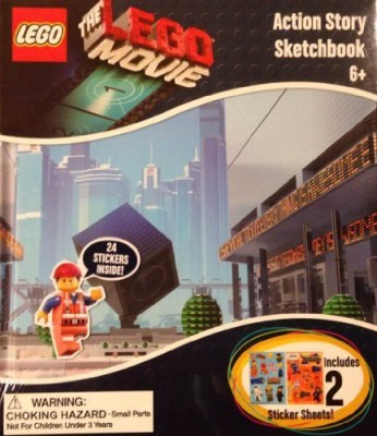MZB Imagination The Lego Movie Story Sketchbook