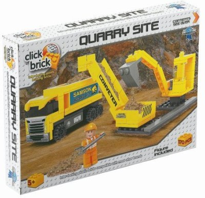 Click Bricks Quarry Site Set (170Piece)
