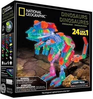 Unknown Laser Pegs National Geographic Dinosaurs Building Kit