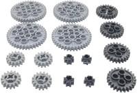 Lego Technic gear SET(Black, Silver) best price on Flipkart @ Rs. 3507
