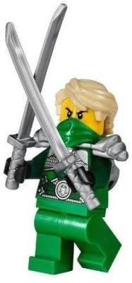 Lego Ninjago Mini Lloyd Garmadon Green Silver Techno Ninja