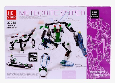 Planet of Toys Meteorite Sniper Bricks Building Blocks (278 Pcs)