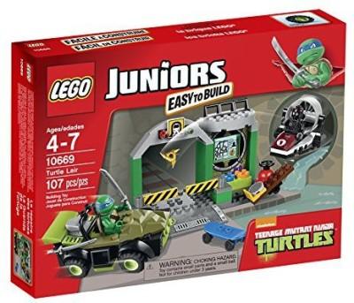 Teenage Mutant Ninja Turtles LEGO Juniors Lair 10669 Building Set