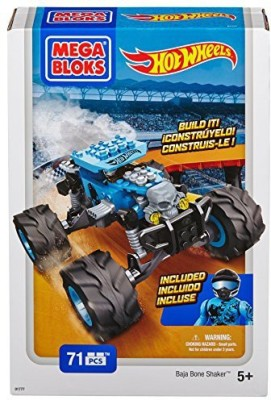 Mega Bloks Hot Wheels Baja Bone Shaker