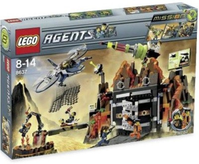 Lego Agents Exclusive Limited Edition Set 8637 Mission 8