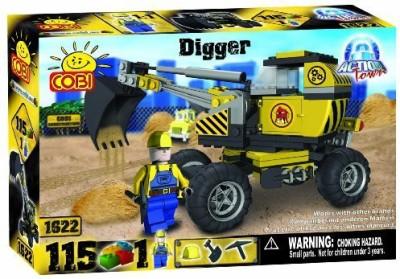 COBI Town Construction Digger115 Piece Set