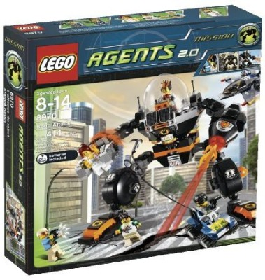 Lego Agents Robo Attack (8970)