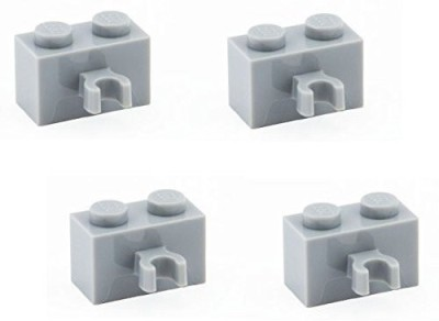 Parts - Bricks, Modified Lego Parts Brickmodified 1 X 2 With Vertical Clip (Pack