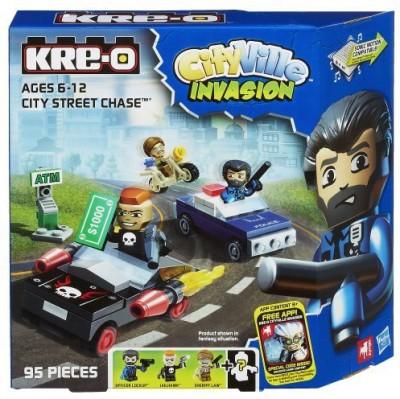 KRE-O Cityville Invasion City Street Chase Set (A4913)
