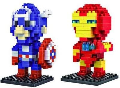 LOZBlock Loz Diamondmarvel Heroes Iron Man And Captain America 2