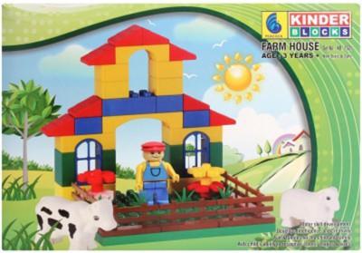 Peacock Kinder Block Farm House