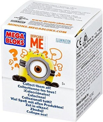 Mega Bloks Despicable Me Buildable Minions Series I Assortment(Multicolor)