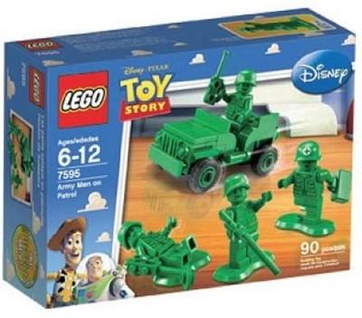 Lego Story Army Men On Patrol (7595)